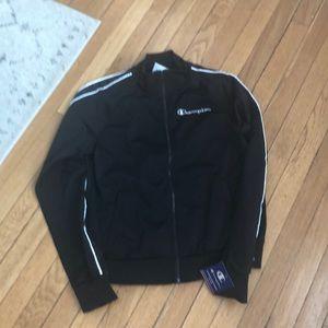NWT Champion size M track jacket full zip